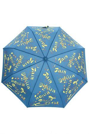 Зонт H.DUE.O. Цвет: синий