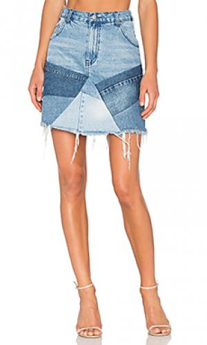 Мозаичная мини юбка PRPS Goods & Co. Цвет: none