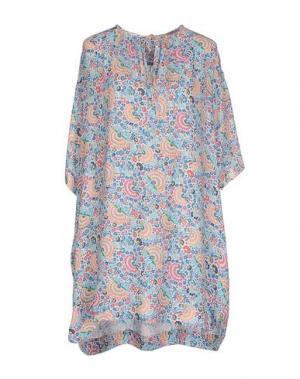Короткое платье PAUL & JOE. Цвет: небесно-голубой