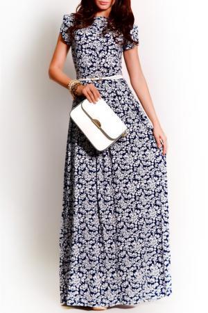 Платье FRANCESCA LUCINI. Цвет: ночной