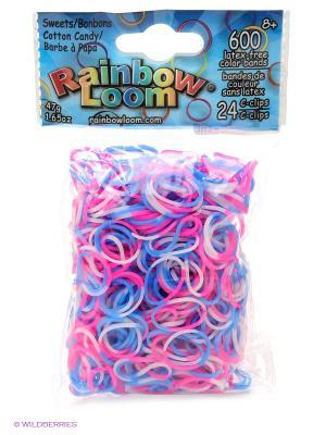 Резиночки Сладкая вата. Коллекция Леденцы RAINBOWLOOM. Цвет: розовый, бледно-розовый, голубой