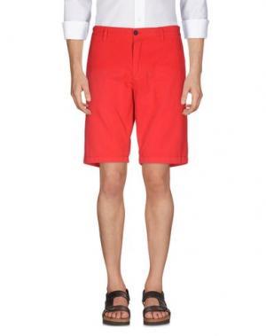 Бермуды GANESH. Цвет: красный