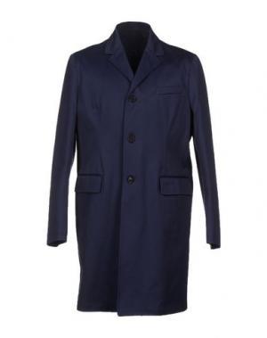 Легкое пальто MM BY MARIOMATTEO. Цвет: синий