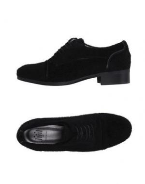 Обувь на шнурках JIJIL. Цвет: черный
