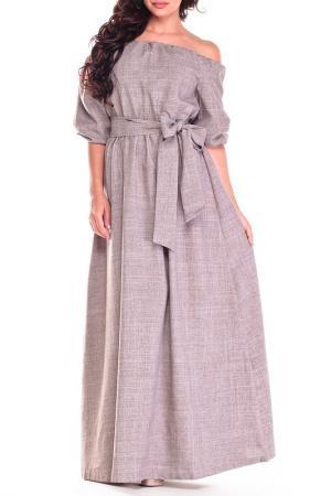 Платье Dioni. Цвет: мокко