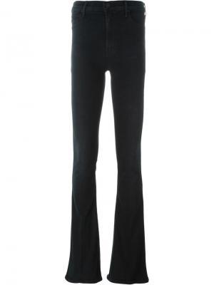 Расклешенные джинсы Castaway Mother. Цвет: чёрный