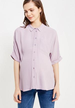 Блуза Topshop Maternity. Цвет: фиолетовый