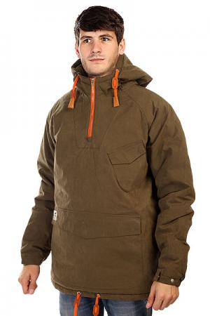 Анорак  Sailor Anorak Army Fat Moose. Цвет: синий