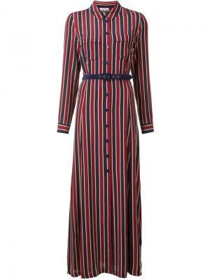 Платье Donaldson Ganni. Цвет: красный