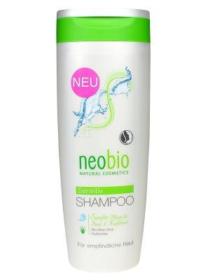 Шампунь для чувствительной кожи головы Neobio. Цвет: светло-желтый