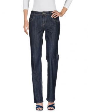 Джинсовые брюки SINÉQUANONE. Цвет: синий