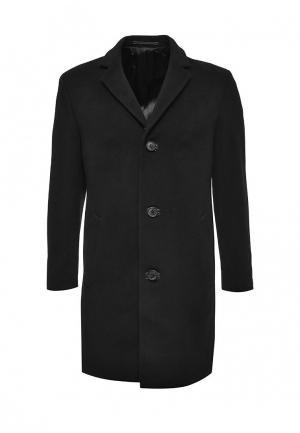Пальто Lagerfeld. Цвет: черный