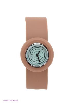 Часы Kawaii Factory. Цвет: коричневый