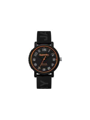 Часы Superdry. Цвет: черный