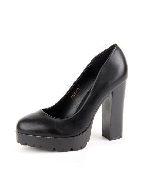 Туфли Best&Best. Цвет: черный