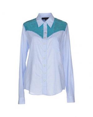 Pубашка AMERICAN RETRO. Цвет: лазурный