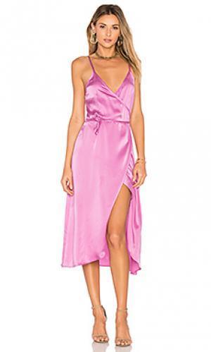 Платье canyon SAM&LAVI. Цвет: бледно-лиловый