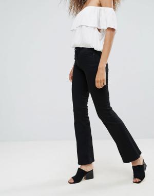 MbyM Расклешенные джинсы. Цвет: черный
