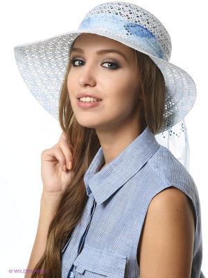 Шляпа Shapkoff. Цвет: голубой