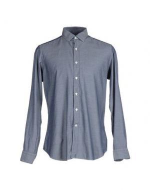 Pубашка MASTAI FERRETTI. Цвет: темно-синий