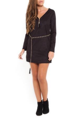 Платье SHES SECRET SHE'S. Цвет: черный
