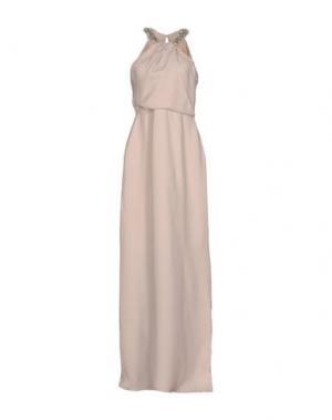 Длинное платье RAOUL. Цвет: светло-розовый