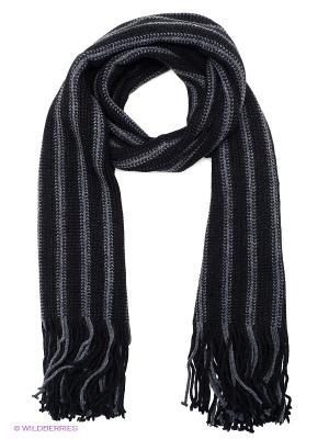 Шарф FOMAS. Цвет: черный, темно-серый