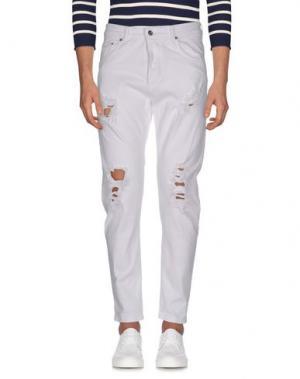 Джинсовые брюки X-CAPE. Цвет: белый