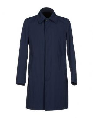Легкое пальто MARIO MATTEO. Цвет: темно-синий