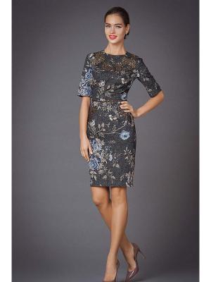 Платья Арт-Деко. Цвет: серый