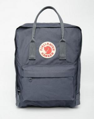 Fjallraven Серый рюкзак Kanken. Цвет: серый