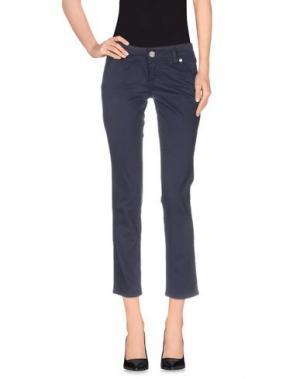 Повседневные брюки SEVEN7. Цвет: грифельно-синий