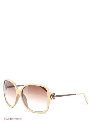 Солнцезащитные очки Selena. Цвет: коричневый, молочный