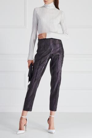 Однотонные брюки «Черная кошка» Esve. Цвет: черный