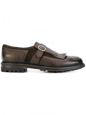 Туфли-монки Doucals Doucal's. Цвет: коричневый
