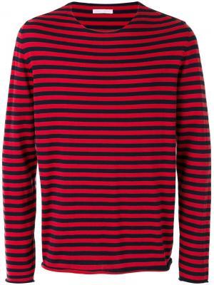 Пуловер с полосками Universal Société Anonyme. Цвет: красный