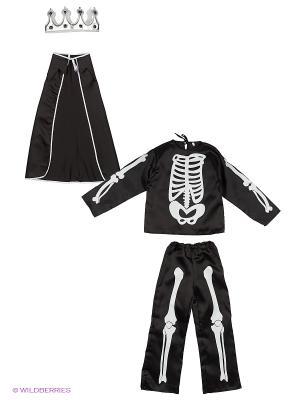 Карнавальный костюм Кащей Бессмертный Батик. Цвет: черный