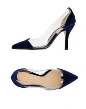 Туфли LUCA VALENTINI. Цвет: синий