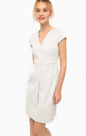 Платье-футляр с треугольным вырезом Darling. Цвет: мятный