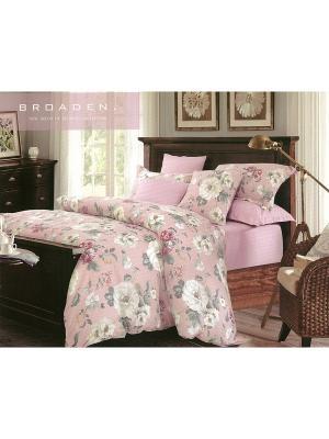 Комплект постельного белья, 1,5 спальный Sofi de Marko. Цвет: розовый