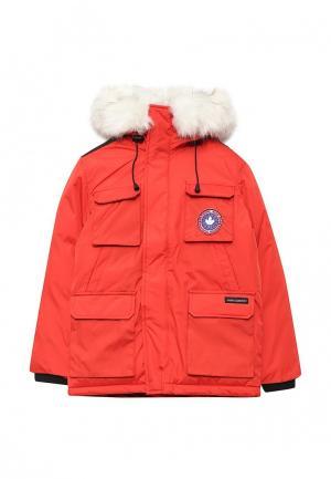 Куртка утепленная Kamora. Цвет: красный