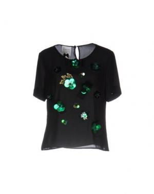 Блузка EDWARD ACHOUR. Цвет: черный