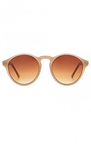 Солнцезащитные очки devon Komono. Цвет: сиреневый