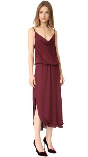 Платье Park Amanda Uprichard. Цвет: винный