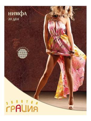 Колготки женские Нимфа Грация. Цвет: светло-коричневый