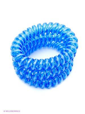 Резинка-браслет для волос Mitya Veselkov. Цвет: синий