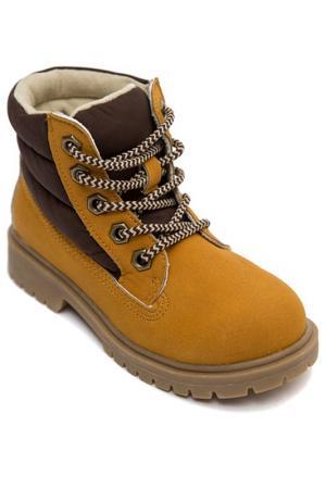 Ботинки PlayToday. Цвет: песочный, коричневый