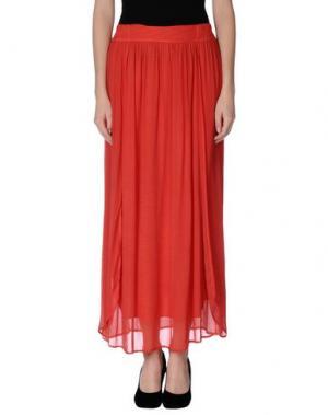 Длинная юбка JEI O'. Цвет: красный