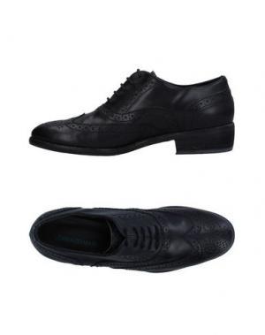 Обувь на шнурках LORENZO MARI. Цвет: черный