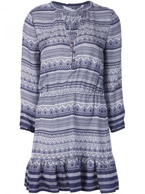 Платье Agathe Veronica Beard. Цвет: синий